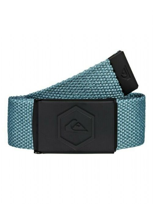 QUIKSILVER MENS BELT.PRINCIPLE III 32mm GREEN WEBBING TROUSERS JEAN STRAP 9W 40C
